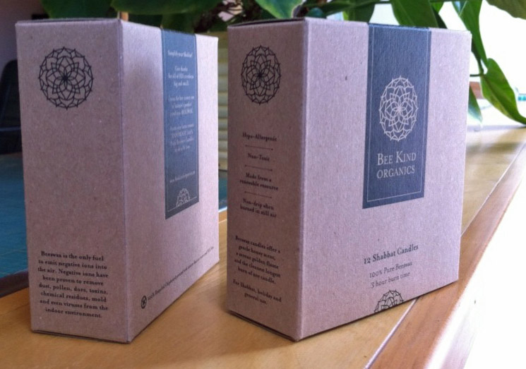 factor[e] :: Just Completed: Bee Kind Organics Candle Boxes