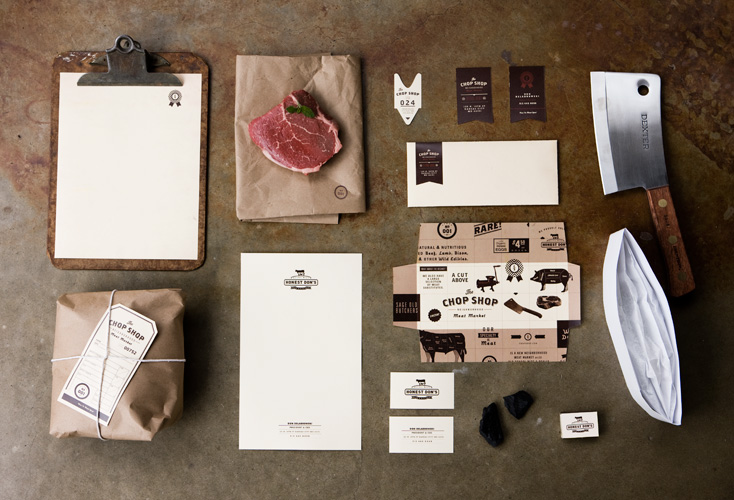 Brand Identity for Honest Don's & the Chop Shop