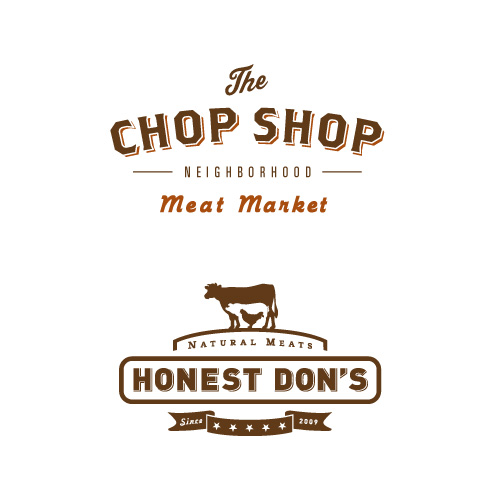 Honest Don's & the Chop Shop logos