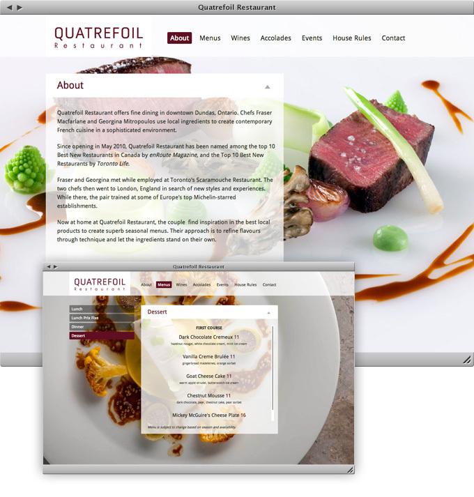 Quatrefoil Restaurant company